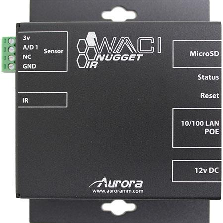 Aurora Multimedia WACI Nugget IR IP Single Port Expansion Module, IR Output  and A/D Ports, 32-Bit ARM Processor