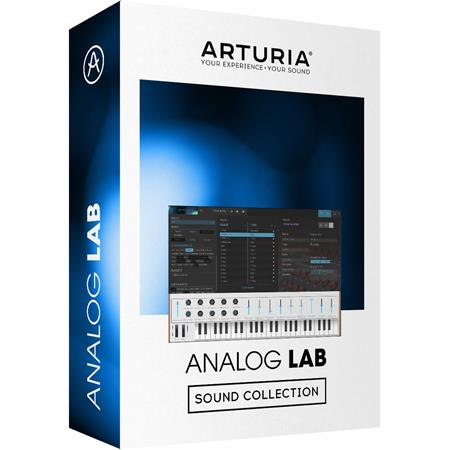 Arturia Analog Lab 4 Virtual Synthesizer Plug-In, Electronic Download