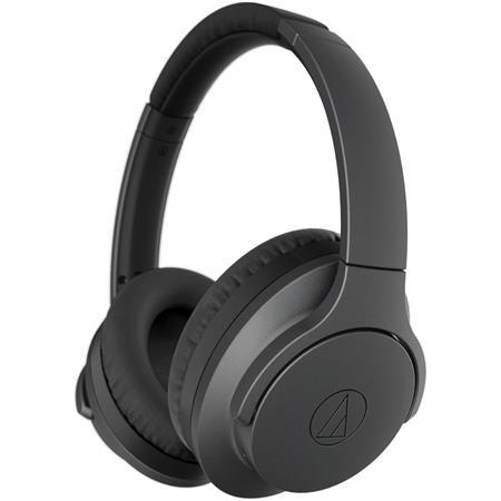 Audio Technica Ath Anc700bt Quietpoint Wireless Over Ear Headphones Mic Black Ath Anc700btbk