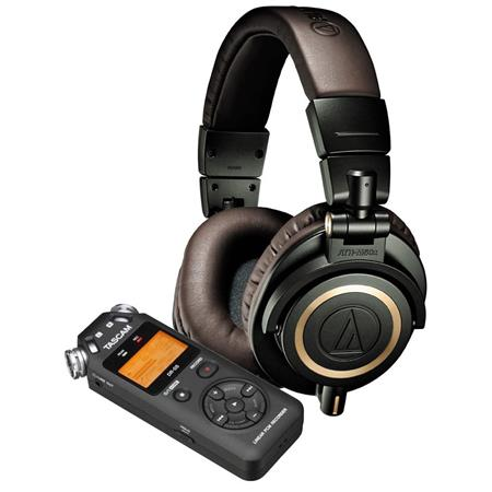 Audio-Technica Headphones Bundle