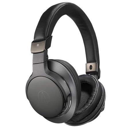 Audio Technica Ath Sr6bt Wireless Over Ear High Resolution Headphones With Mic Control Black