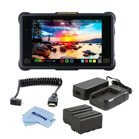 Bundle with Accessory Kit Atomos Shogun Flame 7in 4K Recorder Monitor