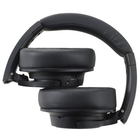 Audio Technica Ath Sr50bt Bluetooth Wireless Closed Back Dynamic Over Ear Headphones With Mic Black