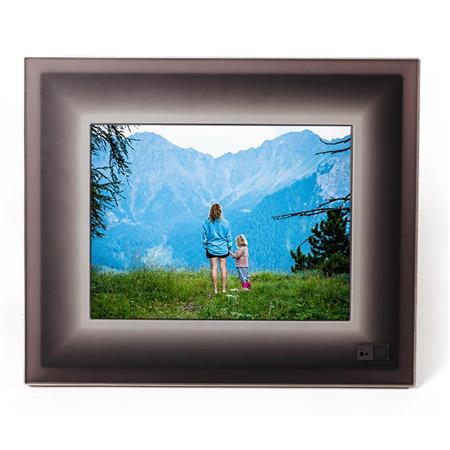Aura Frames 97 High Resolution Led Digital Photo Frame Black Charcoal