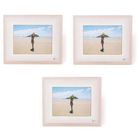 Aura Frames 97 High Resolution Led Digital Photo Frame Ivory Rose