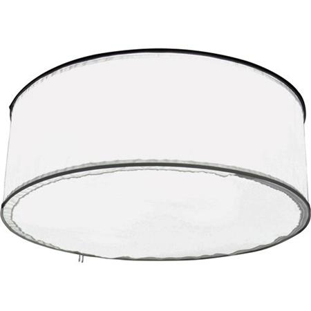 ALZO Drum Overhead Light with 4 CFL Bulbs 5600K