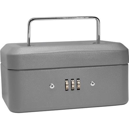 """Barska 6"""" Cash Box with Combination Lock, Extra Small CB11782"""