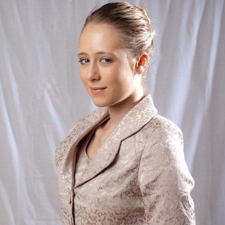 Belle Drape Muslin Background: Picture 1 regular