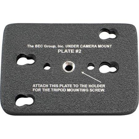 BEC Group Tripod Bottom Plate for Under Camera Placement