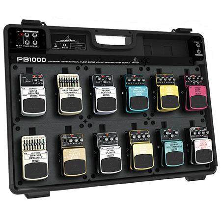 behringer pedal board pb1000 with integrated power supply pb1000. Black Bedroom Furniture Sets. Home Design Ideas