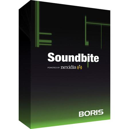 Boris FX SOUNDBITE: Picture 1 regular