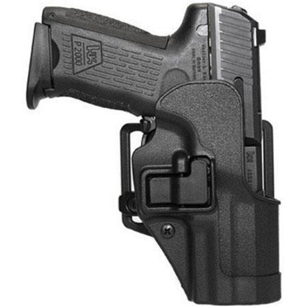 Blackhawk Serpa CQC Belt Holster for Glock 26/27/33 Pistols, Left Hand,  Matte Black