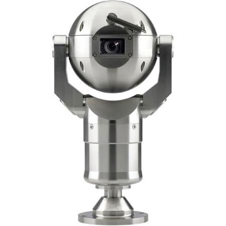 Bosch MIC400 Stainless Steel PTZ Camera with Canted Mount, Bosch Protocol,  & Wiper