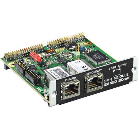 Bosch OM-1 OMNEO/DANTE Interface Module for PAVIRO Controllers