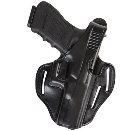 Bianchi 77 Piranha Right Hand Pancake-Style Holster for Ruger LCR Revolver,  Black