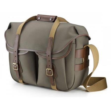 0d19f384c Billingham Hadley Large Pro Shoulder Bag , Sage with Chocolate Trim ...