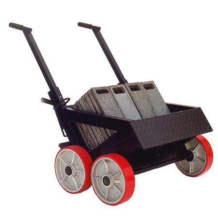 Backstage Super Mario Weight Cart with Wheels, 1000 Capacity