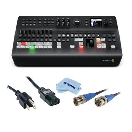 Blackmagic Atem Television Studio Pro 4k Uhd Live Production Switcher W Acc Kit Swatemtvstu Pro4k A