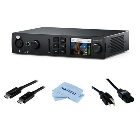 Blackmagic Design Ultrastudio 4k Mini Capture And Playback Un W Power Cord Cable Bdlkulsdmini4k A