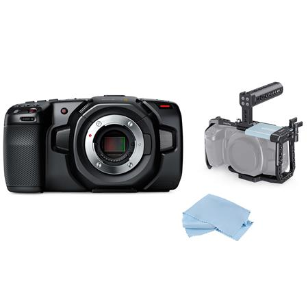 Blackmagic Design Replacement Body Cap for Select Blackmagic Design Cameras with MFT Mount