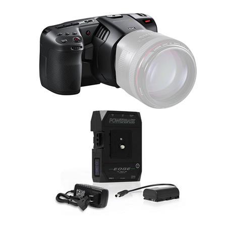 Blackmagic Design Pocket Cinema Camera 6k With Core Swx Powerbase Edge Battery Cinecampochdef6ka