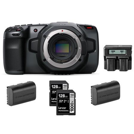 Blackmagic Design Pocket Cinema Camera 6k With Accessory Bundle Cinecampochdef6k H