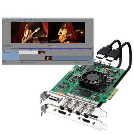 Blackmagic Design Decklink Hd Extreme 3d Bundle W Sony Vegas Pro Software Bdlkhdextr3dplus Z