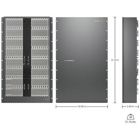 Blackmagic Design Universal Videohub 288 Up To 288xsdi Hd Sdi Vhubuv 288ch