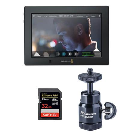 blackmagic video assist  Blackmagic Design Video Assist 4K - Bundle with 32GB U3 Card, and ...