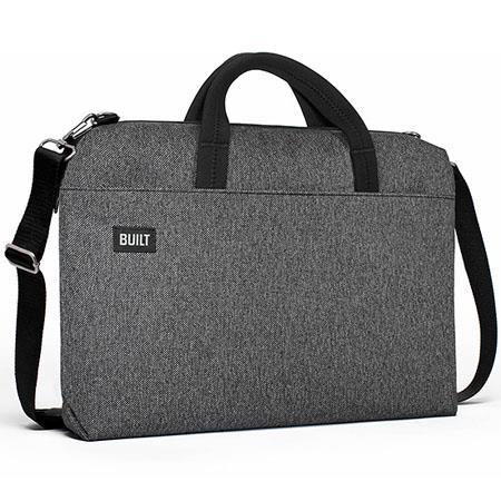 d3508382bdc9 Built Hudson Series Slim Laptop Bag for 15
