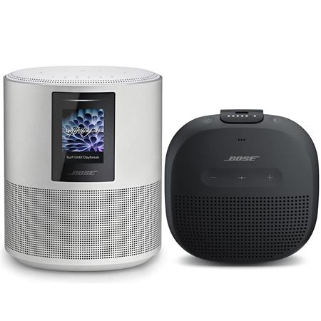 Bose Home 500 Wireless Speaker With Amazon Alexa Luxe Silver W Bluetooth Speaker 795345 1300 E