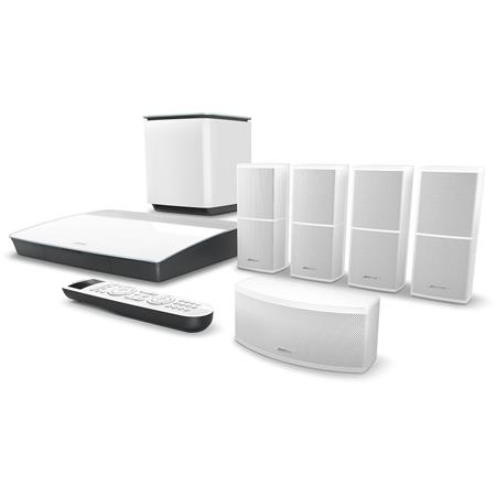 bose lifestyle 600 home theater system with jewel cube speakers, white home theater bose surround sound home theater wiring bose jewel