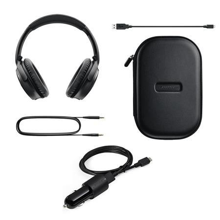818fe3d021c Bose QuietComfort 35 Wireless Headphones Black W/Bose 3' BT Headset ...