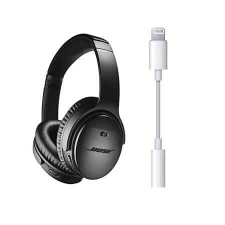 41b6068b219 Bose QuietComfort 35 Wireless Headphones II with Mic Black W/Apple ...