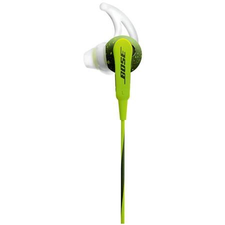 40315b0ba60 Bose SoundSport In-Ear Headphones for Apple Devices, Energy Green ...