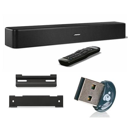 bose solo 5 tv sound system w bluetooth w bose wb 120 wall. Black Bedroom Furniture Sets. Home Design Ideas