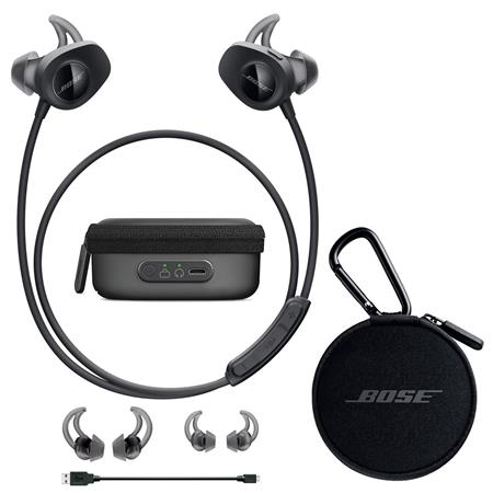 d4bb708d70c Bose SoundSport Wireless Headphones Black W/Bose Charging Case f ...