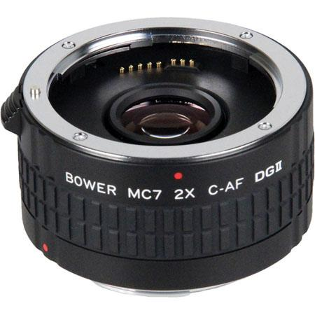 7 Element Bower SX7DGC 2x Teleconverter for Canon