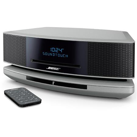 Bose Wave SoundTouch Music System IV, Includes Remote Control, SoundTouch  Pedestal, Platinum Silver