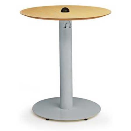 Bretford Pedestal Base D Cafe Table Standing H Outlet - Standing cafe table