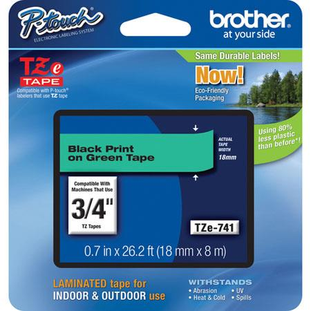 Brother TZe741: Picture 1 regular