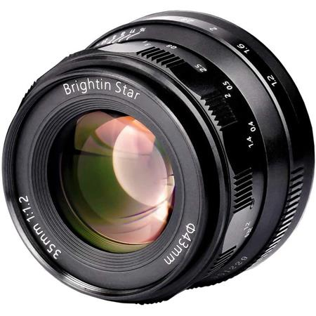 T2 E3 PRO2 T30 A3 T10 T100 T1 T3 E1 T20 W//Lens Pouch Bag /& Focus Wrench Brightin Star 35mm F1.7 APS-C Large Aperture Prime Lens Manual Cameras Lens for Fuji X-Mount PRO1 A1 E2 Black