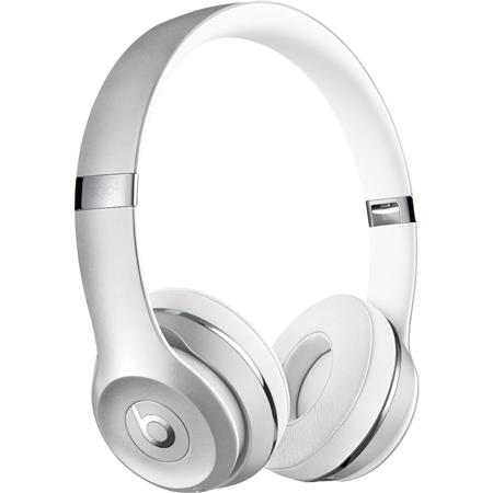 Beats By Dr Dre Beats Solo3 Wireless On Ear Headphones Satin Silver Mx452ll A