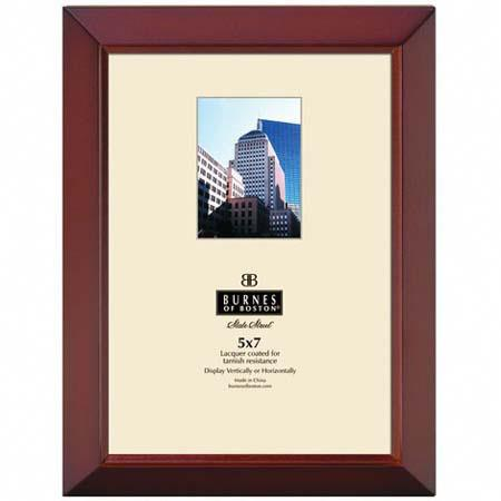 Burnes Of Boston Napa Wood Picture Frame For A 8 X 10 Photograph