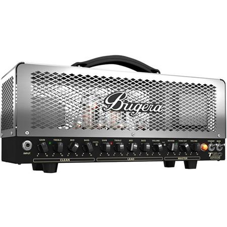 bugera t50 infinium 50w cage style 2 channel tube amplifier head t50infinium. Black Bedroom Furniture Sets. Home Design Ideas