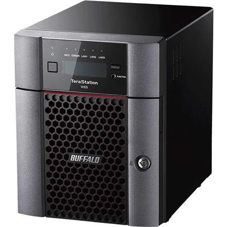 WS5420DN08W6 BUFFALO TeraStation WS5420DN Windows Storage Server 2016 Desktop 8TB NAS Hard Drives Included