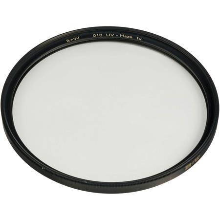 010 B+W 49mm Slim-Line Clear UV Haze with with Single Coating