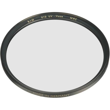 010 B+W 67mm Clear UV Haze Filter with Single Coating