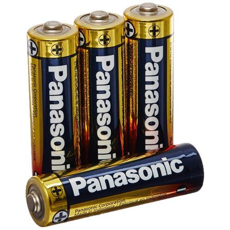 Panasonic 2x 15V AA Alkaline Plus General Purpose Battery 4 Pack