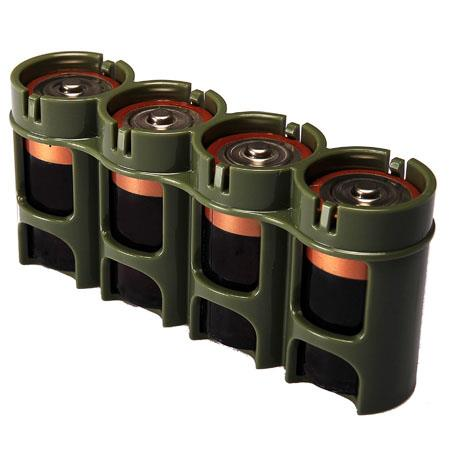 Holds 4 x D CELL Batteries Storage Caddy POWERPAX STORACELL BATTERY HOLDER